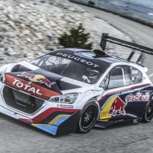 Video de como Loeb testea su Peugeot para Peakes Peak