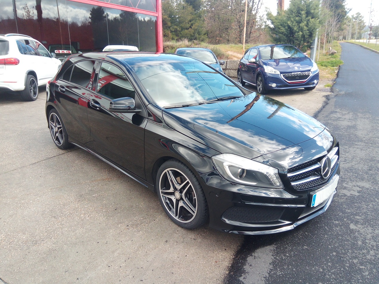 Mercedes Benz Clase A 180 Amg Line Perfect Cars